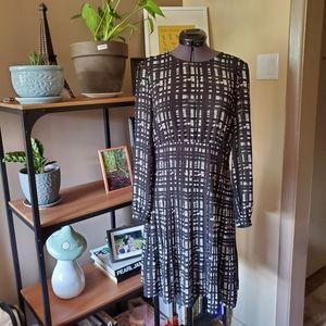 MICHAEL Michael Kors Black and White Dress